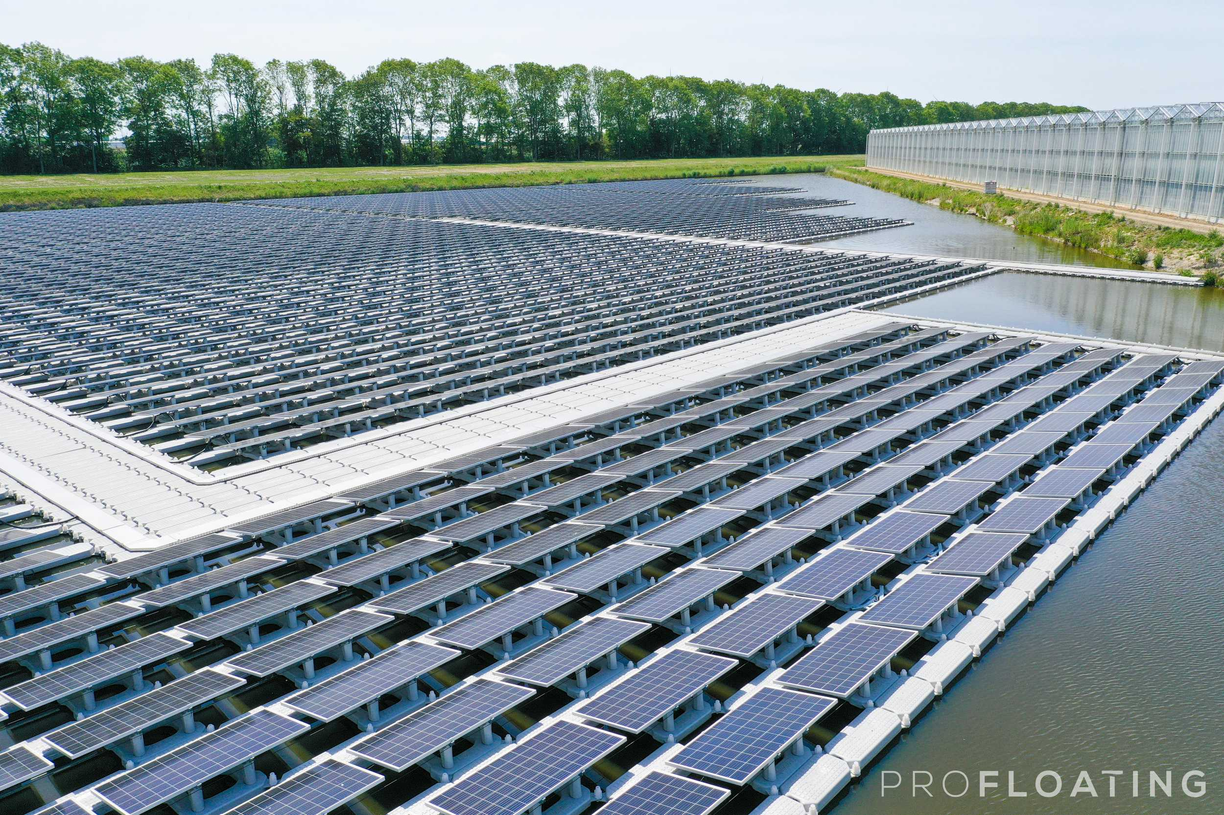 floating solar middenmeer zuid
